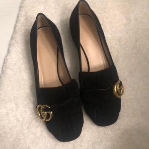 Gucci Marmont Loafers 5.5